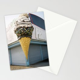 Ice Cream on the boardwalk Stationery Cards