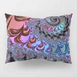 Metallic Fractal Pillow Sham