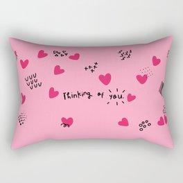 tuesday Rectangular Pillow