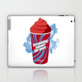 """Freeze Your Brain"" Heathers Minimalist Laptop & iPad Skin"