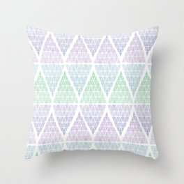 Stacked Triangles - Cool Throw Pillow