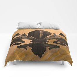 Fluer de lis Comforters