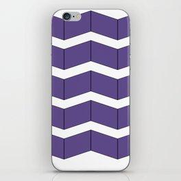 Violet Zig Zag iPhone Skin