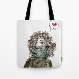 Too cold Tote Bag