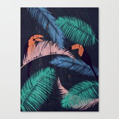Palms in the Sand | Animals Canvas Print