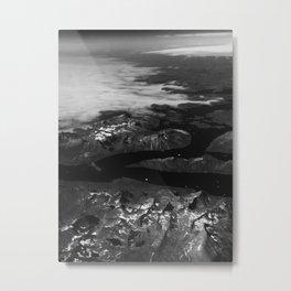 Mountains of Greece Metal Print