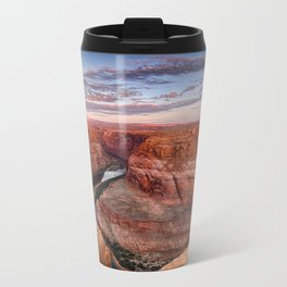A Horseshoe Bend Morning Metal Travel Mug