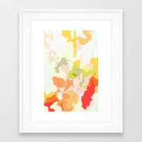 jessica lange Framed Art Prints featuring Jessica by Patricia Vargas