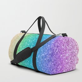 Rainbow Glitter Duffle Bag