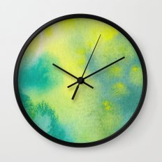 Water and color 10 Wall Clock