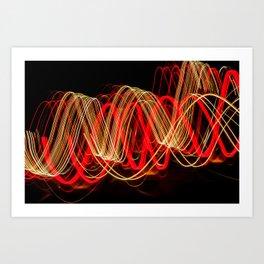 Wavelength of Light Art Print