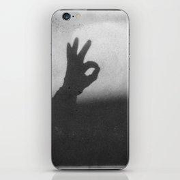 OK (B&W) iPhone Skin