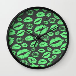Lips 11 Wall Clock