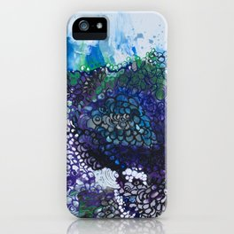 Into The Drink She Goes iPhone Case