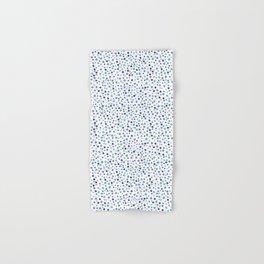 Bubble Rocks-Blue : Part of Organic Medallion collection Hand & Bath Towel