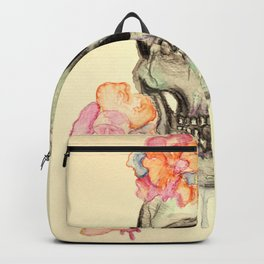 Floral Skull II Backpack