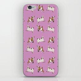 Baesic Prancing Goats iPhone Skin