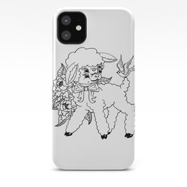 Wholesome Lamb iPhone Case