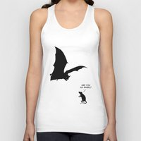 angel Tank Tops featuring Angel by Mobii