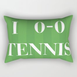 I heart Tennis Rectangular Pillow