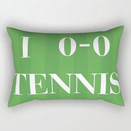 I heart Tennis Rectangular Pillow