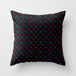 Play Now! Throw Pillow