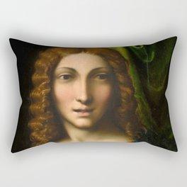 """Antonio Allegri da Correggio """"Salvator Mundi"""" Rectangular Pillow"""