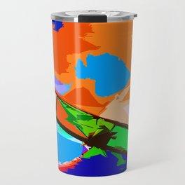 Biplane Aerobatics Travel Mug