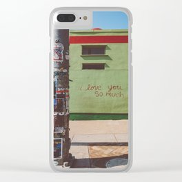 I Love You So Much Austin Clear iPhone Case
