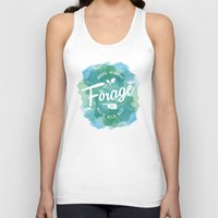 wes anderson Tank Tops featuring Forage, OK by Laura Anderson by Elliot Matson