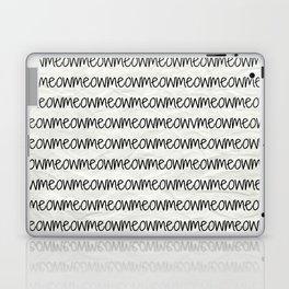 meowmeowmeow Laptop & iPad Skin