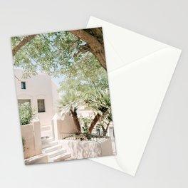 Santorini 0024: Pyrgos, Santorini, Greece Stationery Cards