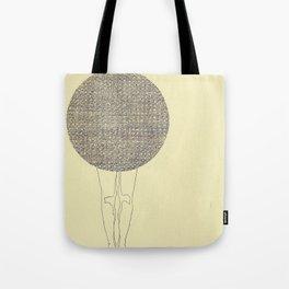 ballad legs Tote Bag