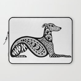 Zentangle Whippet Laptop Sleeve