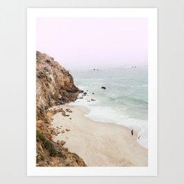 Beach Print - Point Dume, Malibu Art Print