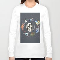 cosmic Long Sleeve T-shirts featuring Cosmic by AnnaW