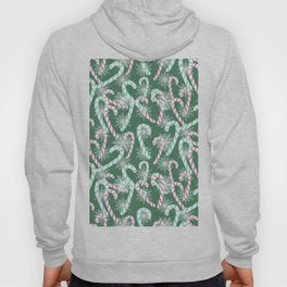 Frosty Canes Green Hoody