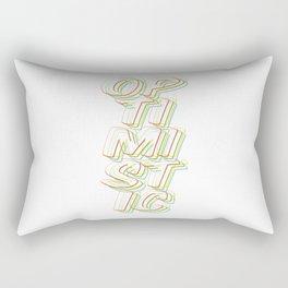 Optimistic Rectangular Pillow