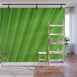 The green lines Wall Mural