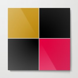 Unit 4 colors 1 Metal Print