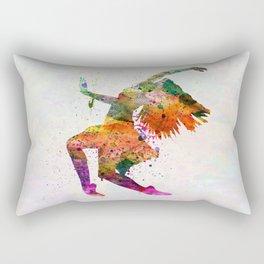 dancing to the night  Rectangular Pillow