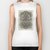 chakra Biker Tanks featuring Second Chakra by Work the Angle