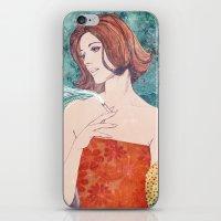 diamonds iPhone & iPod Skins featuring Diamonds by Ryan Haran