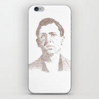 leon iPhone & iPod Skins featuring Leon Czolgosz by Neil Campau