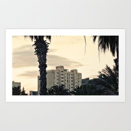 Barceloneta House Art Print