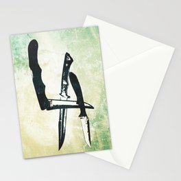Knives Stationery Cards