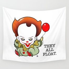 Pennywise From The Movie IT Wall Tapestry
