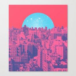 Metropolis Landing Canvas Print
