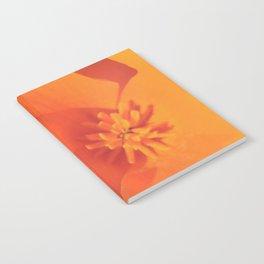 Golden Petals Notebook