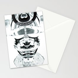 Samurai - Pen & Ink Stippling Stationery Cards